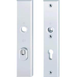 Veiligheids langschilden dubbele deuren