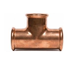 T-koppeling Roodkoper Water